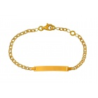 Bracelet identité rectangle
