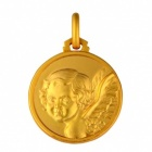 Médaille Ange de profil